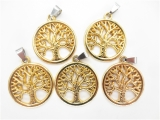 Tree of Life pendant set von 5 gold