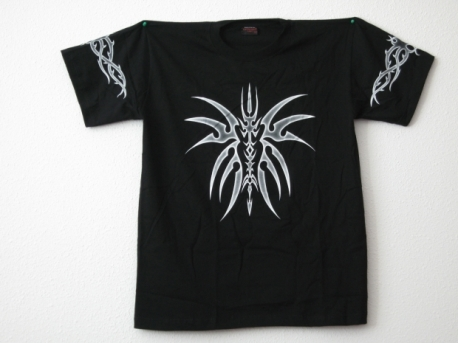 Tribal T-Shirt mit Fantasy-Figur